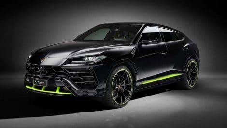 Lamborghini Urus Graphite Capsule SUV: Ride With Style