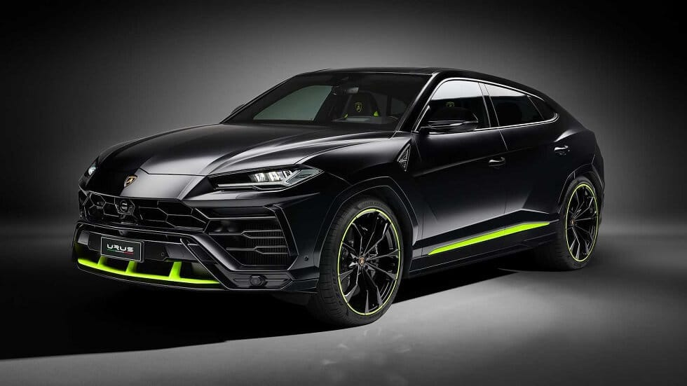 Lamborghini Urus Graphite Capsule SUV: Ride With Style